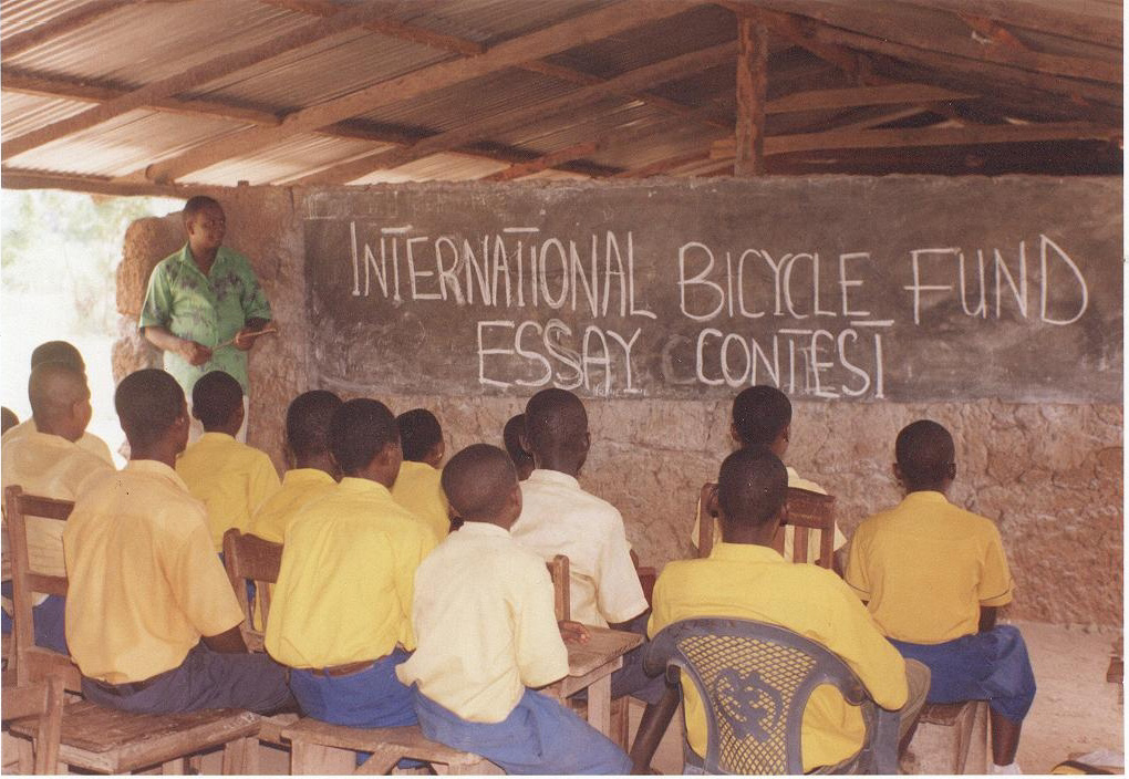 Annual Student Bicycle Essay Contest