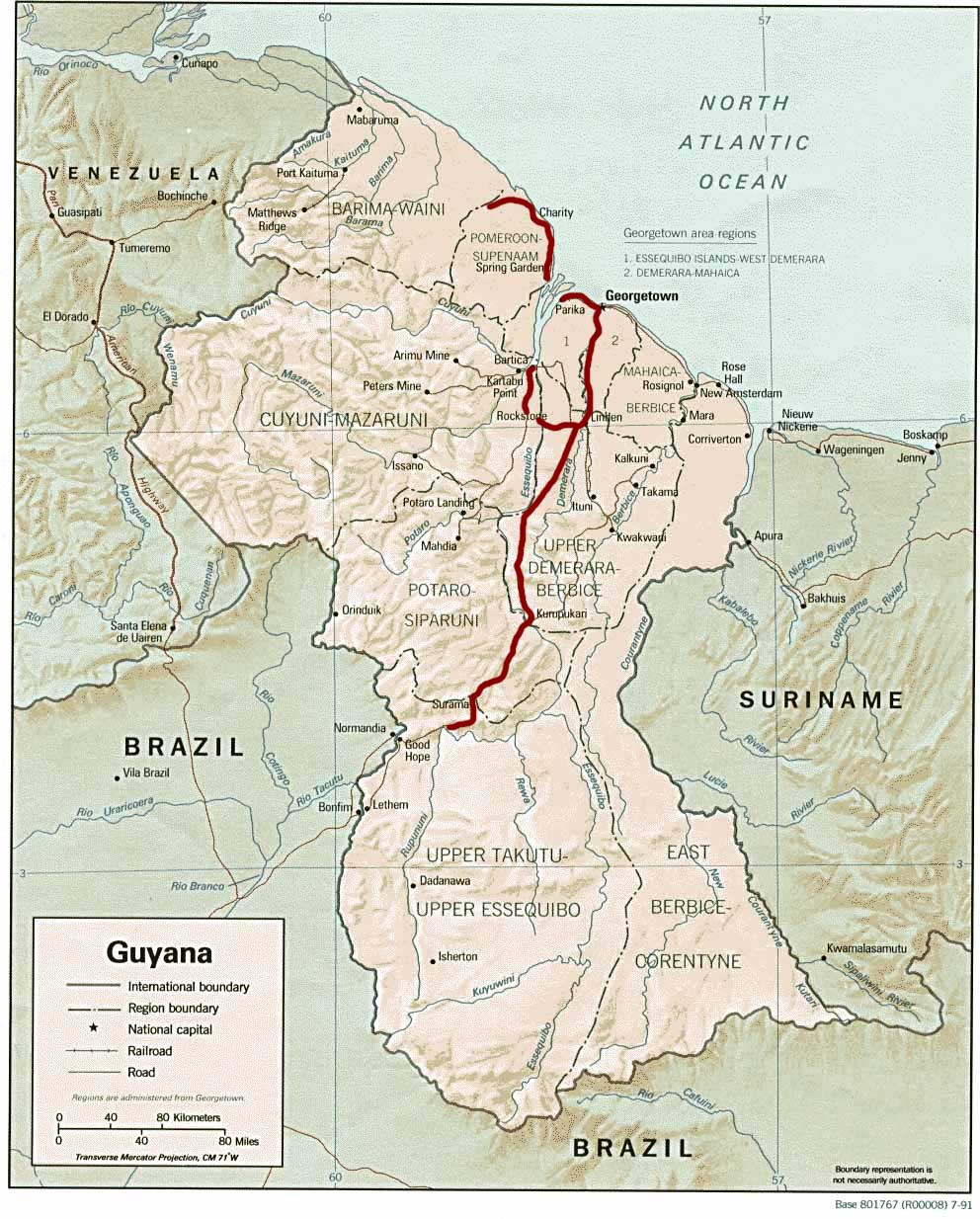 Guyana Guiana Surama Rupununi