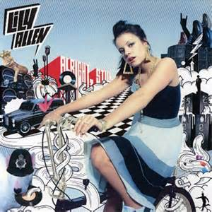 Lily Allen bicycle