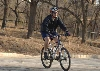 George W. Bush bicycling