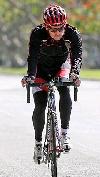 Patrick Dempsey bicycling