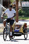 Ben Harper bicycling