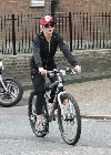 Madonna bicycling