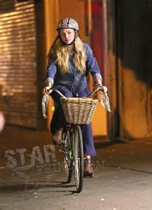 Amanda Seyfried bicycle