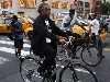 Al Sharpton bicycling