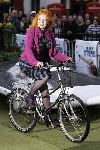 Vivienne Westwood bicycling