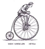 High Wheeler or Ordinary Bicycle