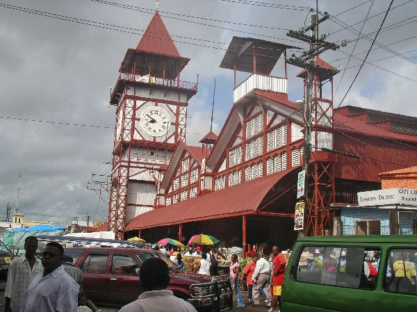 Guyana (Guiana): Georgetown