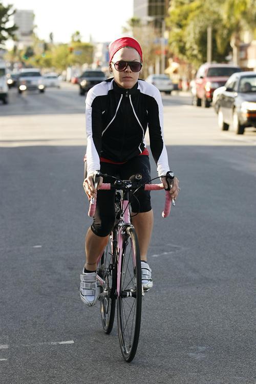 Celebrities On Bicycle